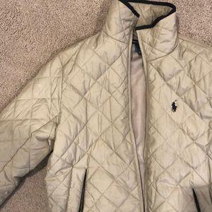 Ralph Lauren sport puffer coat